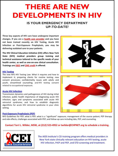 HIV Clinical Education Initiative